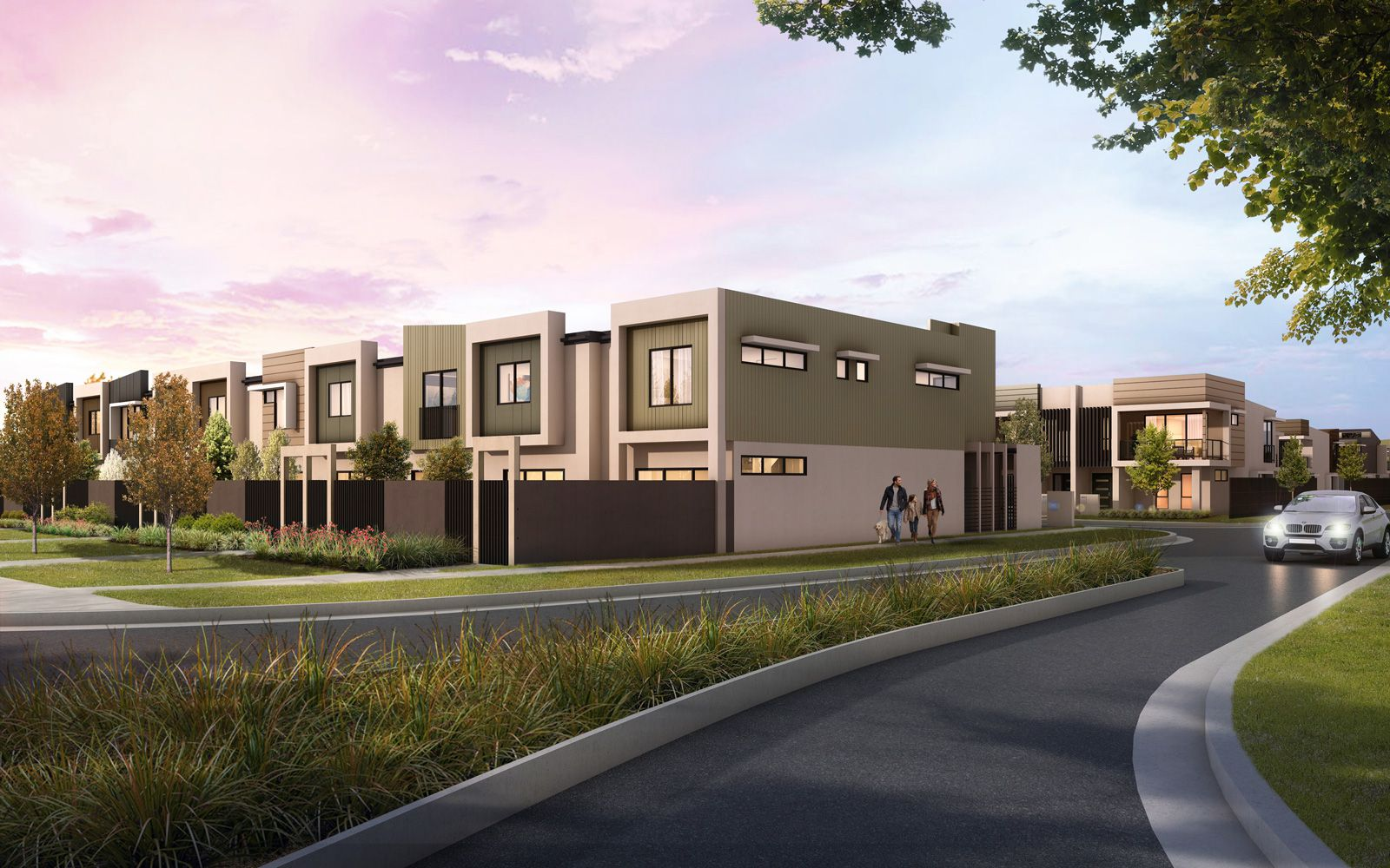 Krystal Townhouses – One Day Sell Out