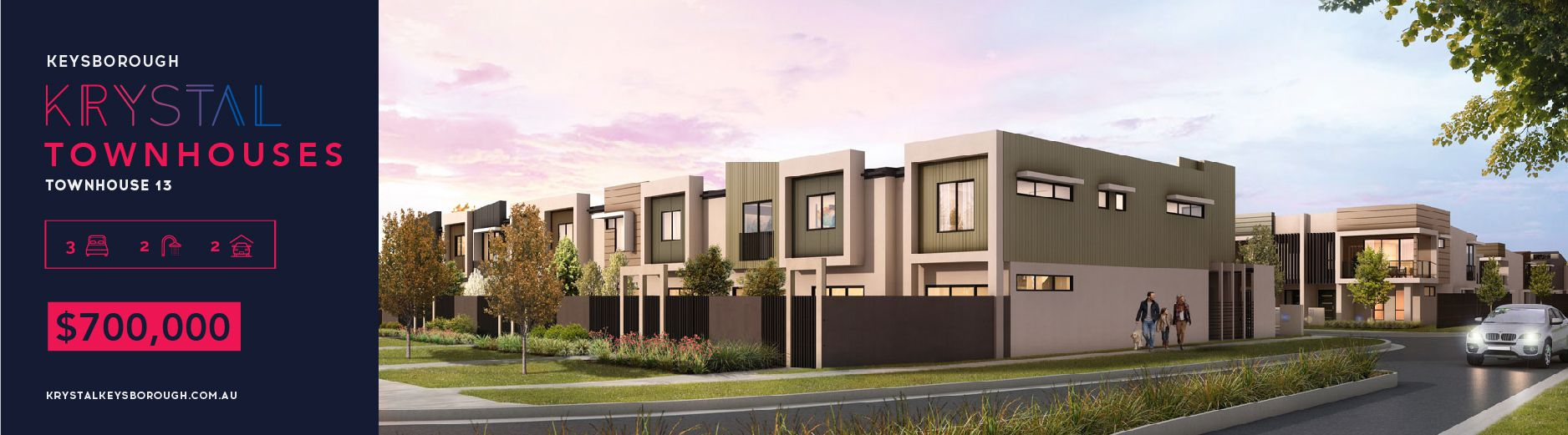 Krystal Townhouses in Keysborough