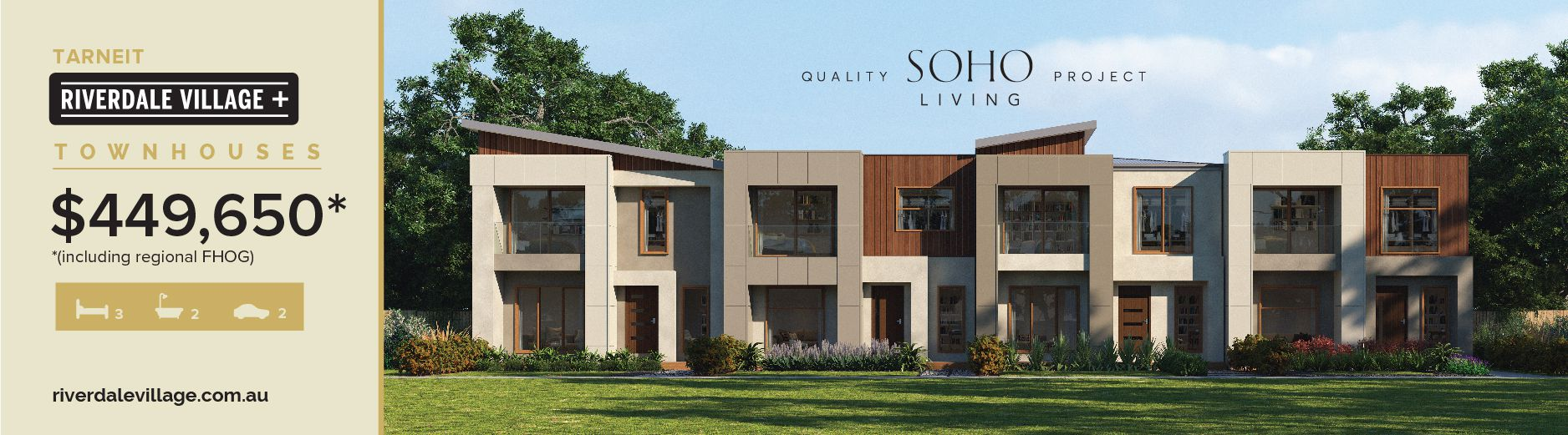 Riverdale Village Townhouses, Tarneit